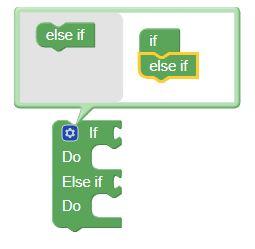 Blockly If Do Advanced Custom lier des dispositifs