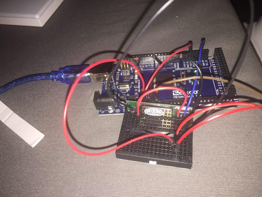 Cablage Arduino RFLink